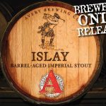 Avery Brewing Releases 127 Cases of Islay on April 23rd