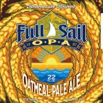Full Sail Brewing Oatmeal Pale Ale, Latest in Brewmaster Reserve Series