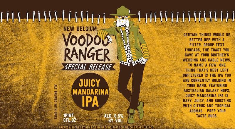 New Belgium Voodoo Ranger Juicy Mandarina IPA