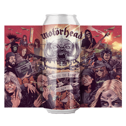 Amplified Motorhead Born to Lose IPA