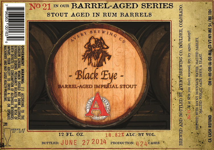 Avery Brewing Black Eye