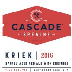 Cascade Brewing Releases Kriek 2016 With New Label
