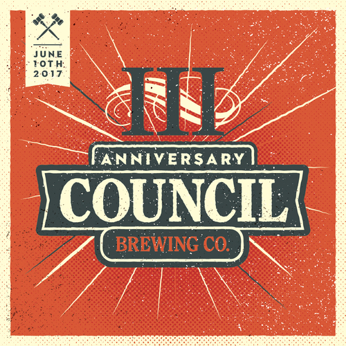 Council Brewing - 3rd Anniversary