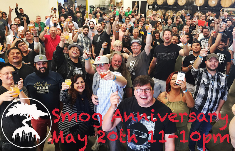 Smog City 2017 Anniversary Party