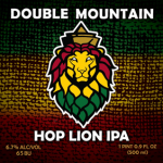 Double Mountain Brewery Hop Lion IPA