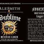 AleSmith Brewing Sublime Mexican Lager Release and Event Details