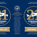 Coronado Brewing Celebrates with 21st Anniversary Limited-Edition Imperial IPA
