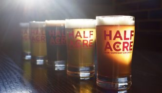 Half Acre Beer Glasses