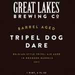 Great Lakes Brewing Barrel Aged Tripel Dog Dare Release Details
