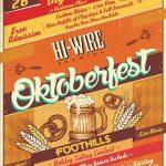 Hi-Wire Brewing Celebrates 2nd Annual Oktoberfest