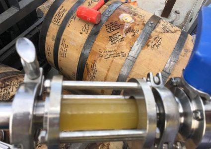 105 West Brewing BA Apricot Saison