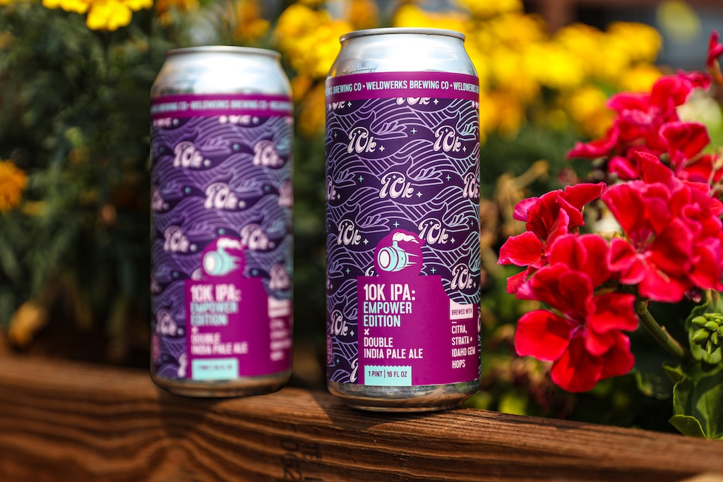 WeldWerks Brewing Brews 10K IPA: Empower Edition for A Woman's Place and SAVA thumbnail