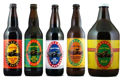 Eugene City Brewery Lineup