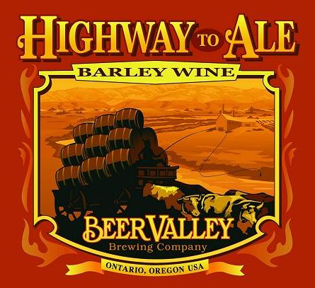 Review - Beer Valley Highway to Ale Barleywine