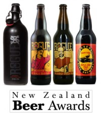 Rogue Breweries Win 4 of 11 Best in Class Awards in New Zealand