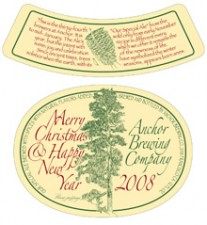 Anchor Our Special Ale 2008 – Anchor Christmas