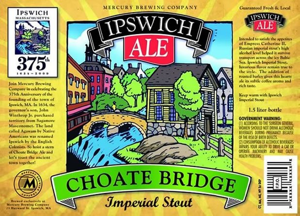 Ipswich Ale - Choate Bridge Imperial Stout
