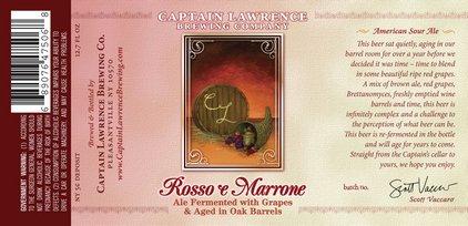 Captain Lawrence - Rosso e Marrone