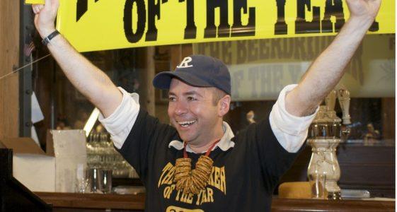 Wynkoop Beer Drinker of the Year - Cody Christman