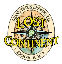 Grand Teton Brewing - Lost Continent Double IPA