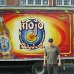 John standing in front of the Boulder Beer truck - PBW 09