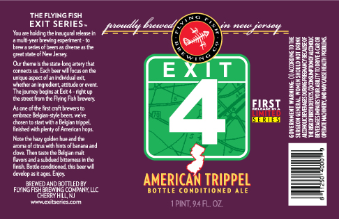 Flying Fish Exit 4 Now Available In 6 Packs