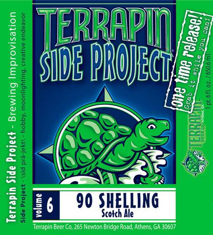 Terrapin Side Project Volume 6 90 Shelling