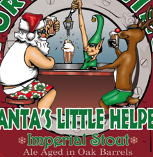 Lost Abbey Barrel Aged Santa