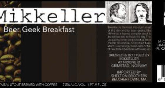 Mikeller Beer Geek Breakfast
