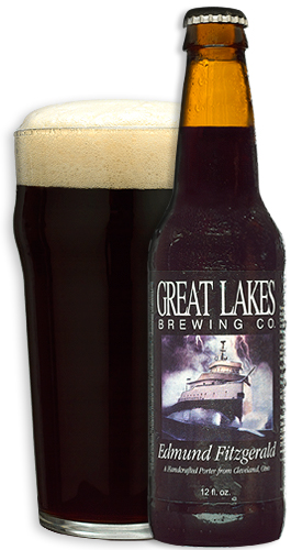 Great Lakes Edmund Fitzgerald Porter Beer Review