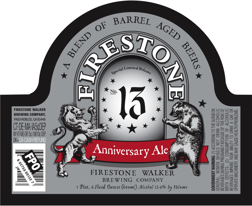 Firestone Walker 13 Label