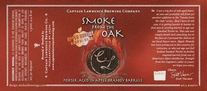 Captain Lawrence - Smoke From The Oak, Apple Brandy Barrel Aged