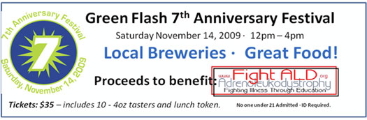 Green Flash - 7th Anniversary Banner
