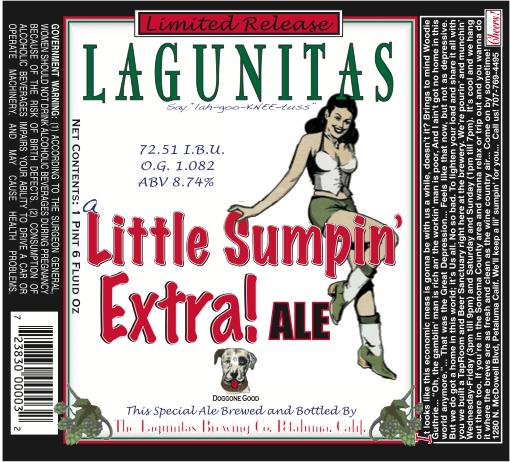 Lagunitas Lil Sumpin Extra Ale