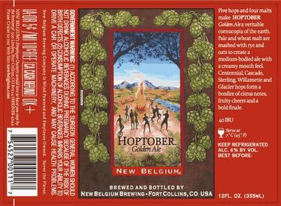 New Belgium Hoptober Golden Ale