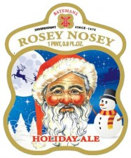Batemans Brewery - Rosey Nosey Holiday Ale