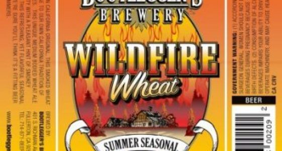 Bootleggers Brewery - Wildfire Wheat