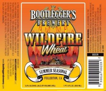 Bootleggers Brewery - Wildfire Wheat