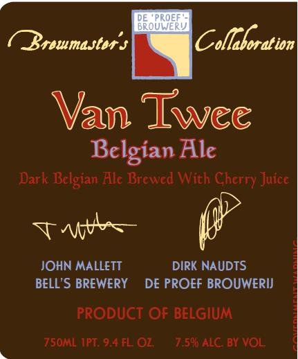 De Proef and Bell's Brewmaster Collaboration – Van Twee