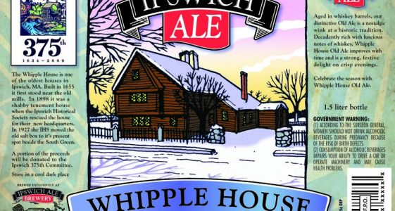 Ipswitch Whipple House Old Ale from Mercury Brewing