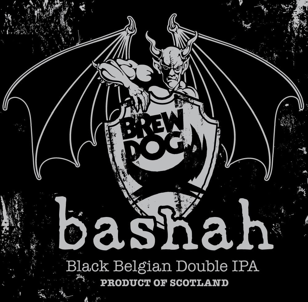BrewDog Stone Bashah Black Belgian Double IPA