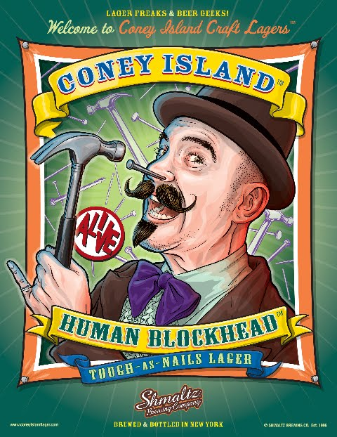 Shmaltz Brewing - Coney Island Human Blockhead