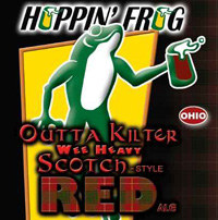 Hoppin Frog Outta Kilter Wee Heavy Scotch Red Ale