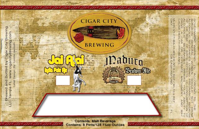 Cigar City Maduro Oatmeal Brown Ale- Vanilla Aged