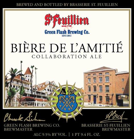 Green Flash & Brasserie St. Feuillien Collaboration