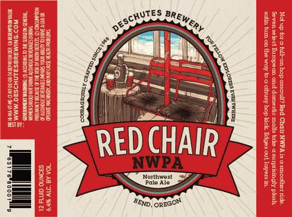 & Deschutes Red Chair Northwest Pale Ale