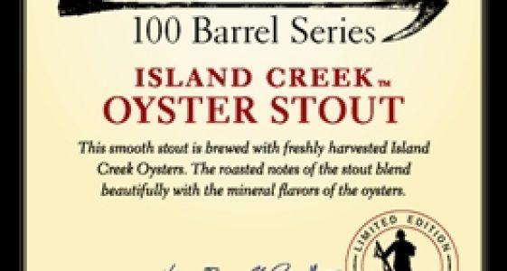 Harpoon 100 Barrel Series #30 Island Creek Oyster Stout