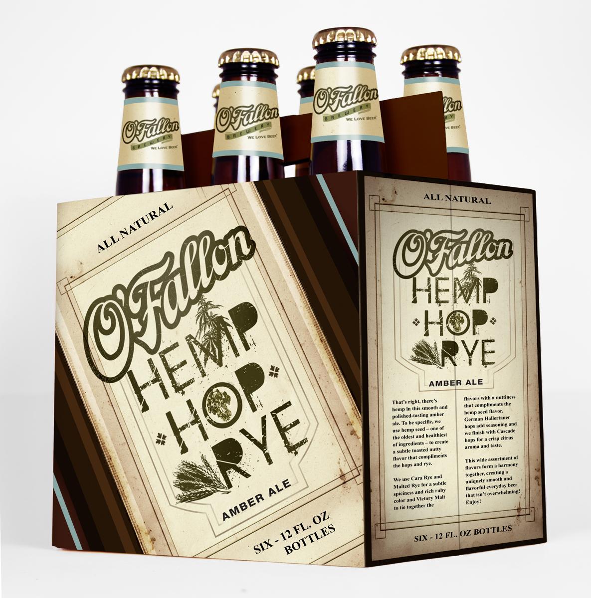 O'Fallon Hemp Hop Rye Beer Released