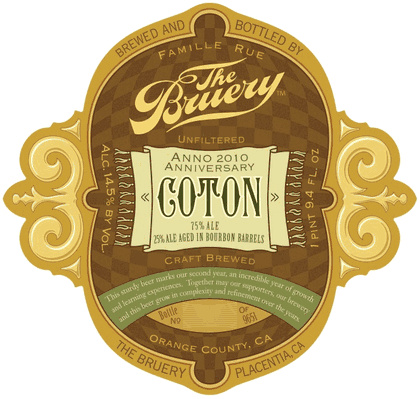 The Bruery Barrel Aged Coton