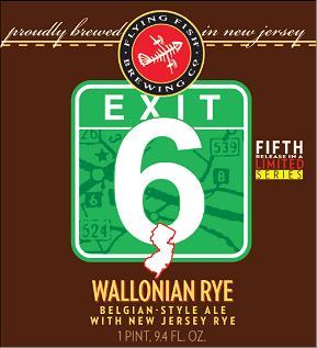 Flying Fish – Exit 6 Wallonian Rye